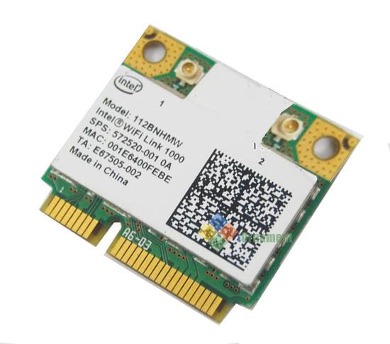 INTEL WL WIFI LINK 1000 FULL HT 112BN.MMWWB MINI CARD