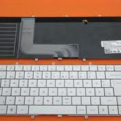 DELL Adamo 13-A101 Keyboard Teclado Latin Backlit Silve