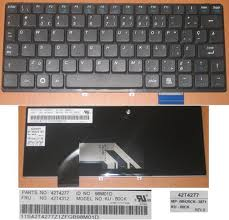 Lenovo Ideapad S9 S10 Keyboard European 42T4277 Black