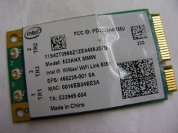 Intel 533ANX MMW/Wimax WIFI 5350 ThinkPad 42T0966 466239-001