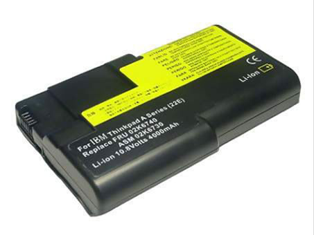 Batterie Ordinateur Portable IBM ThinkPad A21e A22e A21e-2655