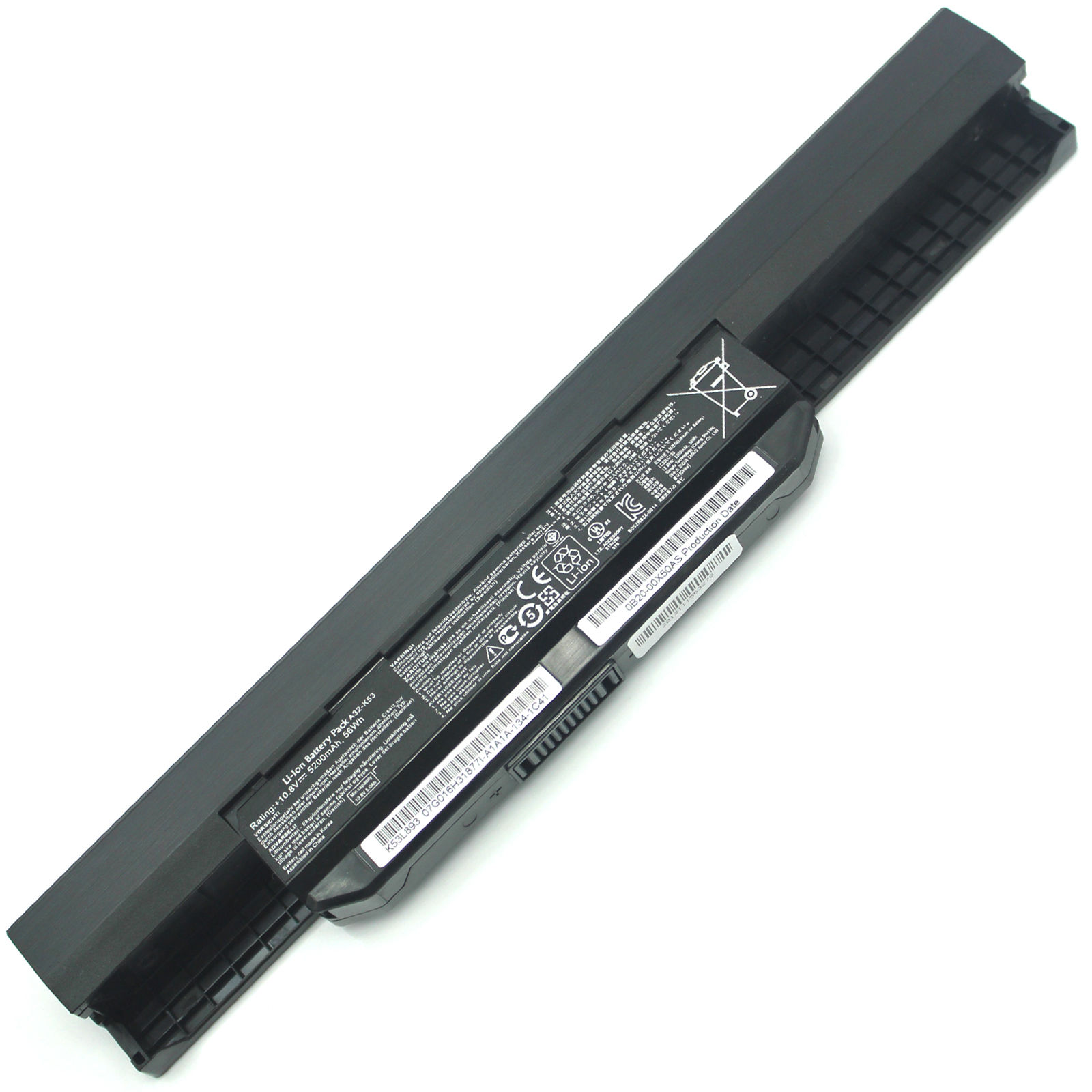 5200mAh Asus A43 A53 K43 A32-K53 Batterie PC Portable