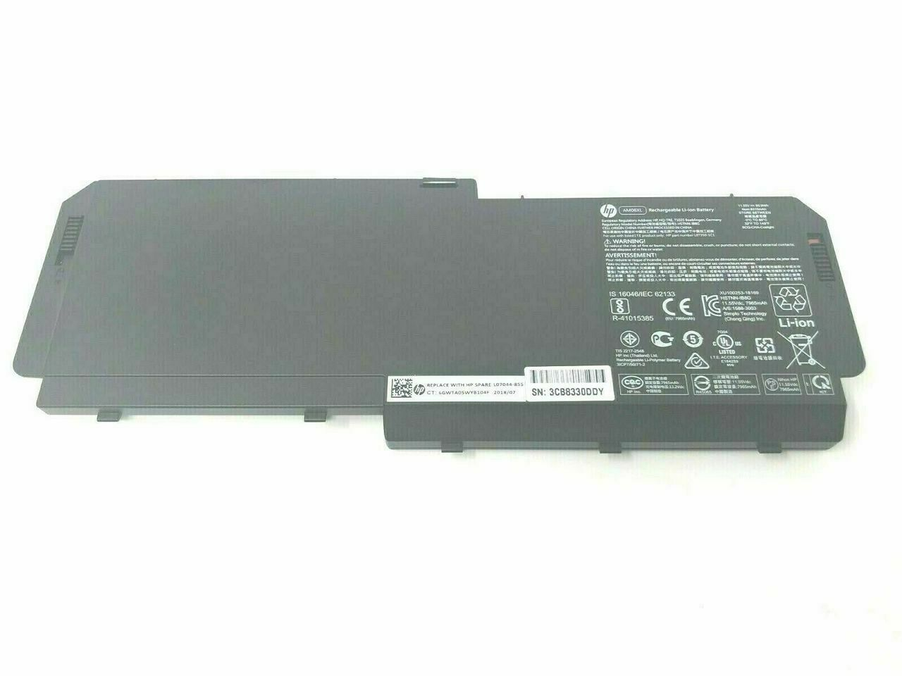 BM04XL Battery for HP Elitebook X360 1030 G3 G4 HSTNN-DB8L HSTNN-UB7L