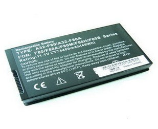 ASUS N82(A32-F80) batterie PC portable 4800mAh