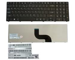Acer Aspire 5536 5536G 5538 5542 Clavier US Glossy
