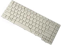 Acer Aspire 5910 5920 5910G 5920G Clavier UK White