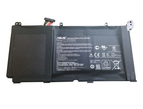 Original 50WH Asus VivoBook V551L C31-S551 Batterie PC Portable