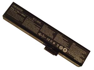 BATTERIE 4400mAh pour MSI BTY-M44 BTY-M45 ACCU