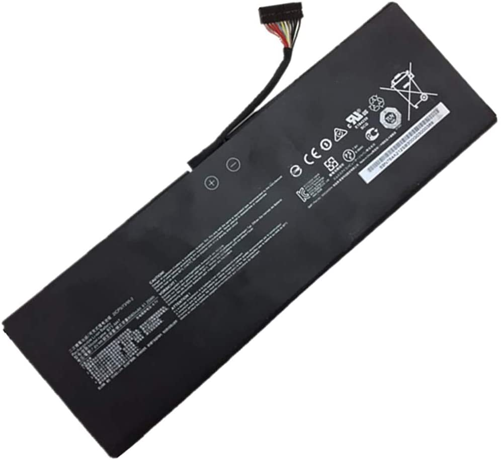 7.6V 61.25Wh 8060mAh BTY-M47 Remplacement Batterie pour MSI GS40 GS43 2ICP5/73/95-2 Laptop Tablet