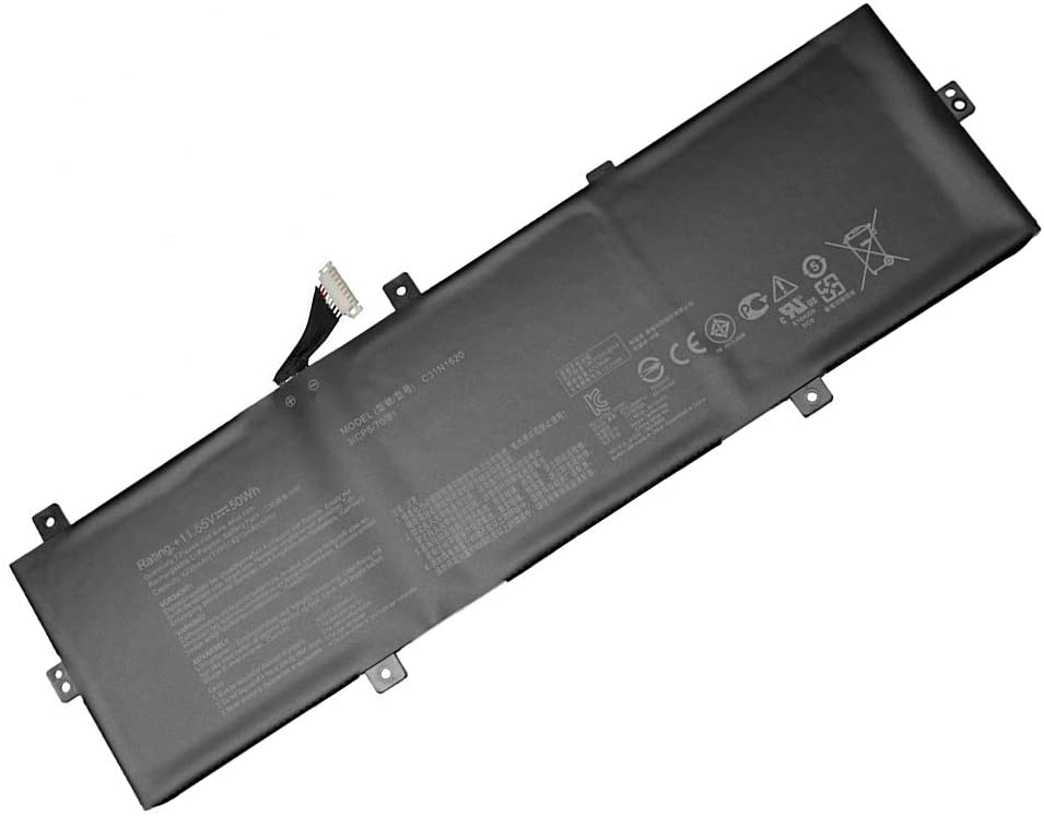 11.55V 50Wh C31N1620 3ICP5/70/81 Remplacement Batterie pour ASUS ZenBooK C31N1620 3ICP5/70/81