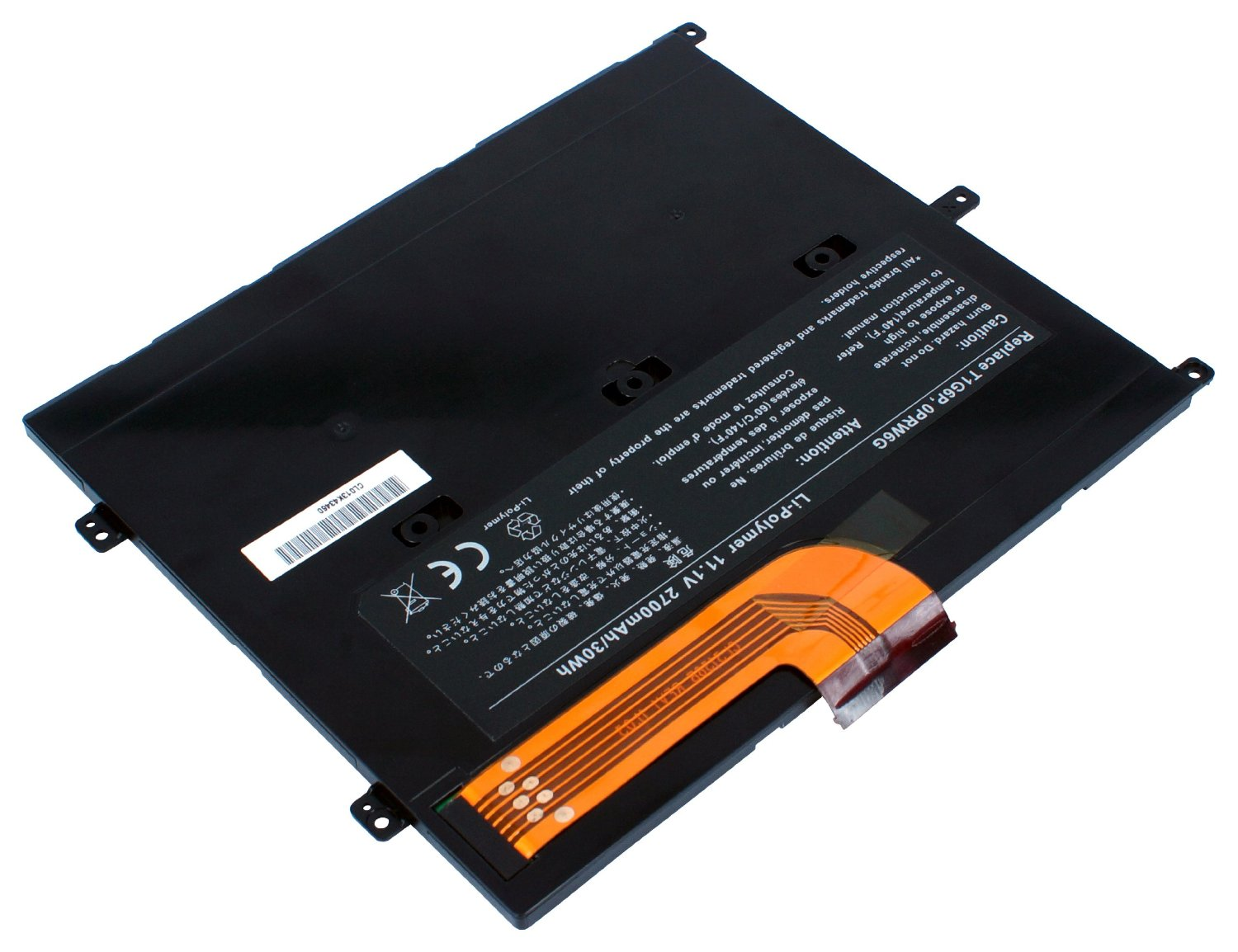 2700mAh Dell Vostro V13 V130 CN-0449TX Batterie PC Portable