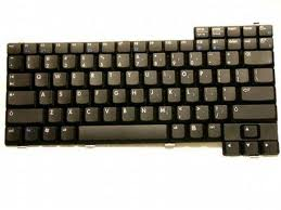 HP COMPAQ 2100 2500 NX9000 Keyboard French Clavier BLK