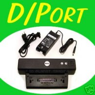 Dell D/Port Latitude D400 D500 D600 Docking Station + Chargeur