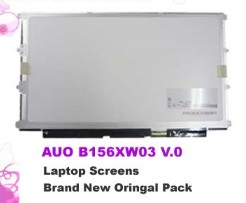 "B156XW03 V.0 15.6"" 1366 x 768 WXGA Glossy HD Slim AUO led panel"