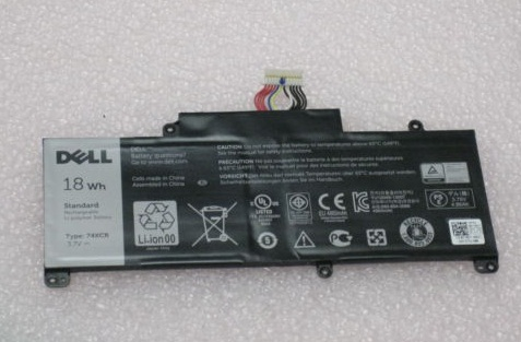 Original 18WH Dell Venue 8 Pro T01D 74XCR Batterie PC Portable