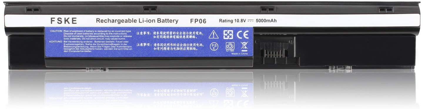 FP06 FP06XL H6L26AA Batterie pour HP ProBook 450 G1 470 G1 450 G0 Notebook Battery,10.8v 5000mah 6 cellules