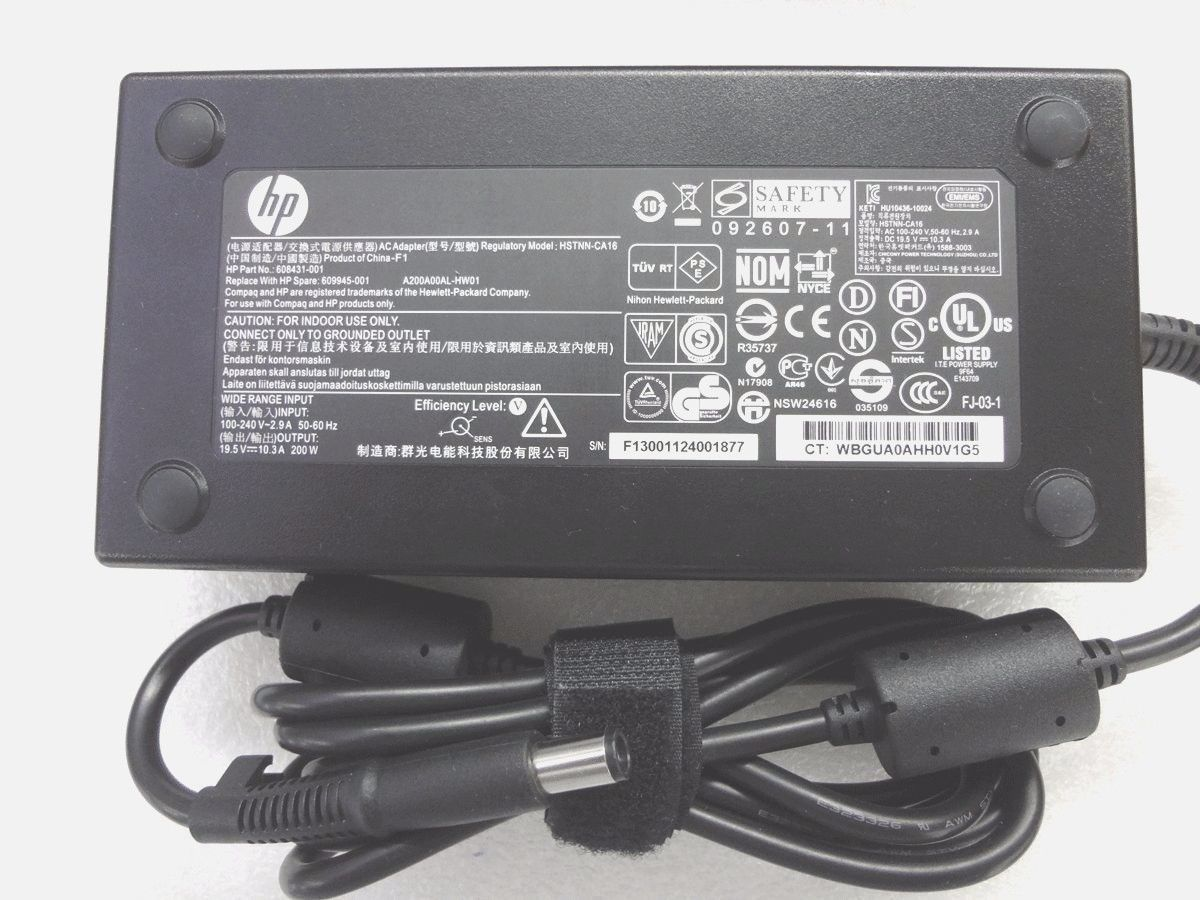 10.3A HP ZBook 17 G2 677764-001 Chargeurs