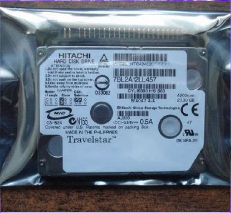 Hitachi Travelstar C4K60 HTC426040G9AT00 DISQUE DUR pour IBM X41