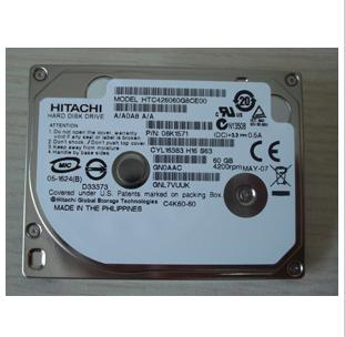 HITACHI 1.8 HTC426060G8CE00 60GB C4K60 CE ZIF Drive HDD