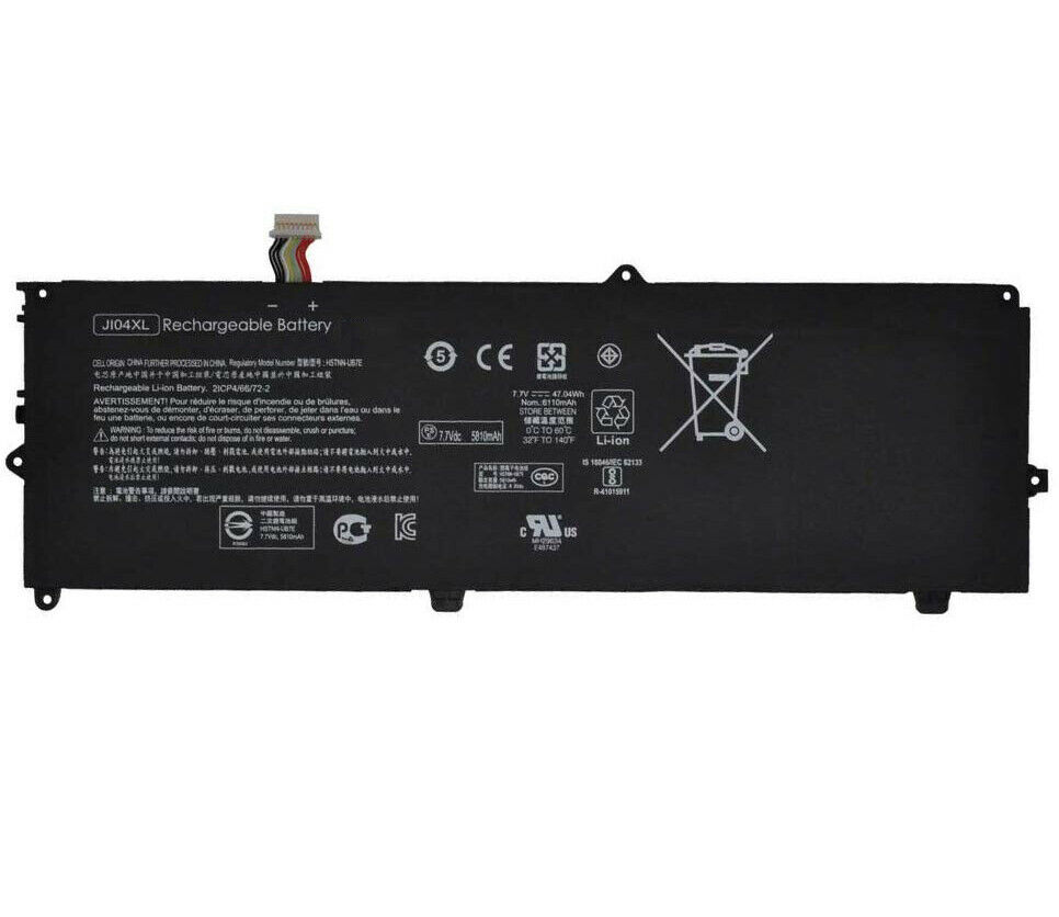 JI04XL Batterie For HP Elite X2 1012 G2 G2-1LV76EA JI04047XL HSTNN-UB7E