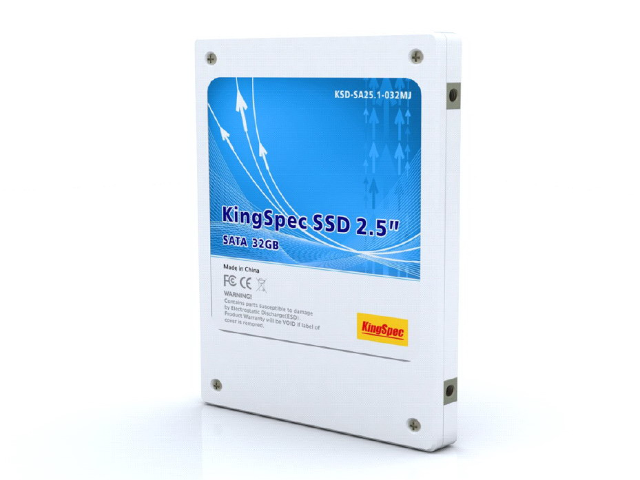 "KingSpec 2.5"" SATA 64GB MJ SSD, Boost up your PC"