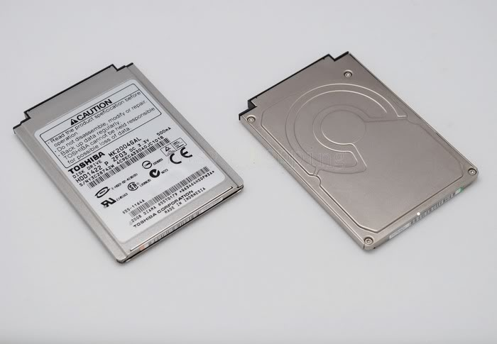 1.8 20GB 20Go MK2004GAL DISQUE DUR HDD IPOD 3rd Gen 4th