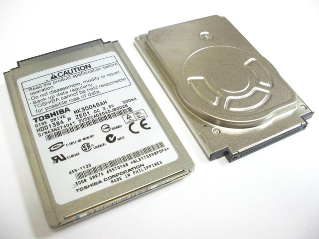 "1.8"" 30GB ATA Toshiba MK3004GAH Laptop DISQUE DUR HDD"