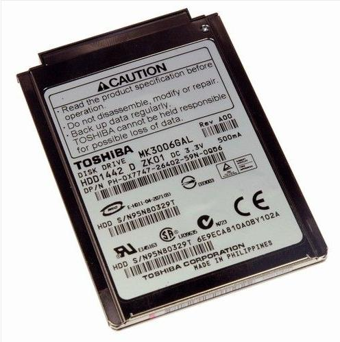 Toshiba MK3006GAL HDD pour Laptop and iPod