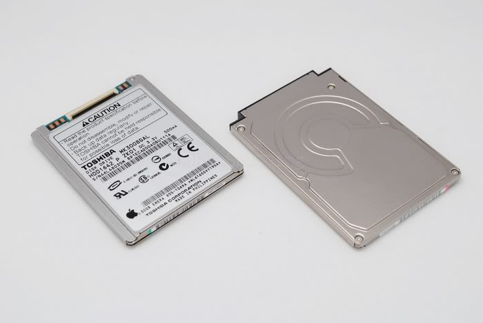 "1.8"" 30GO 30GB TOSHIBA MK3008GAL DISQUE DUR HDD IPOD"