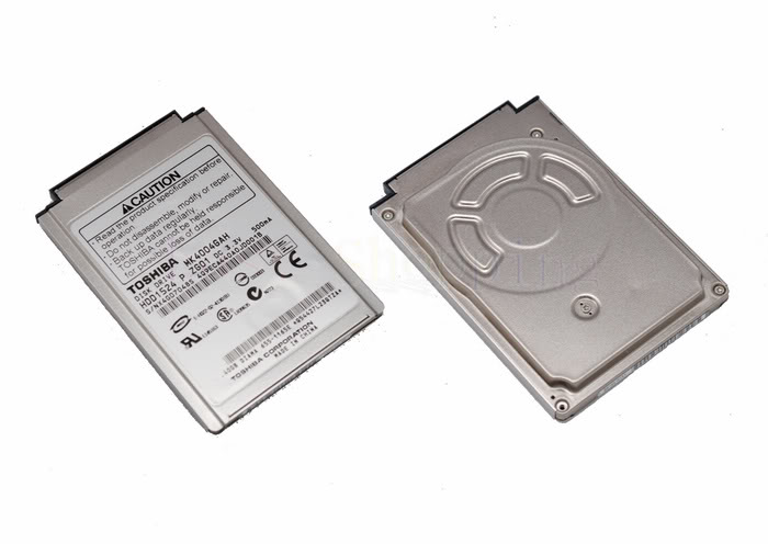 "1.8"" 40GB CF IDE MK4004GAH DISQUE DUR 40 GB HDD IPOD HDD"