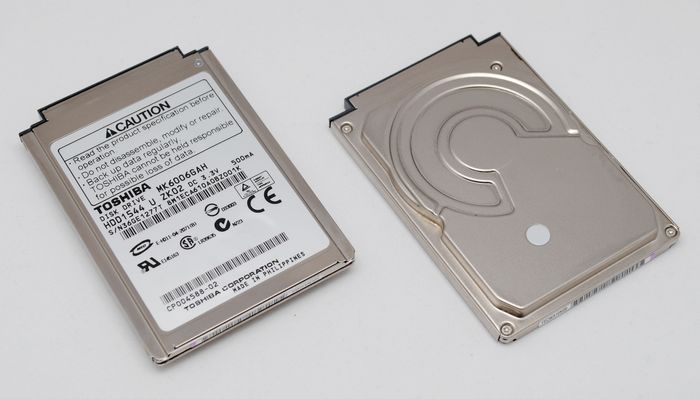 "1.8"" 60GB Toshiba Hard Drive IBM X60S Dell x1 60 GB HDD MK6006GA"