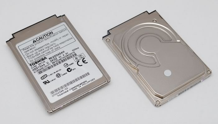 "1.8"" 60GB IDE CF MK6006GAH NOTEBOOK DISCO DURO R100"