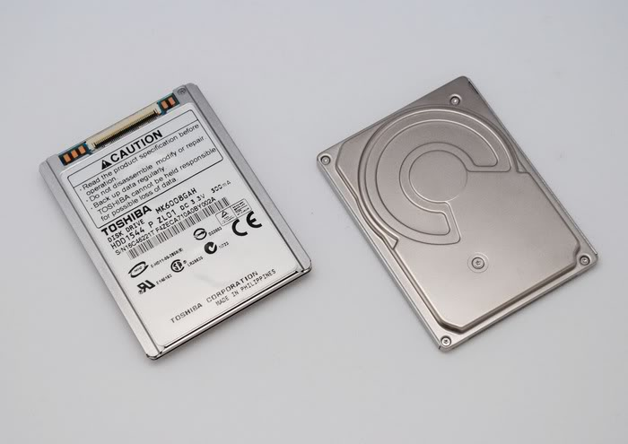 "1.8"" 60GB ZIF PATA MK6008GAH Disco duro NOTEBOOK HDD 60"