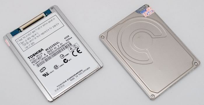 "1.8"" 60 GB NOTEBOOK Hard Disk ZIF PATA 60GB HD 5MM 60G"
