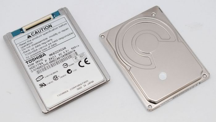 1.8 80GB 80 GB DISQUE DUR DRIVES LAPTOP NOTEBOOK HDD MK8009GAH