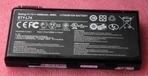 5200mAh 91NMS17LF6SU1 Batterie PC Portable MSI A6200