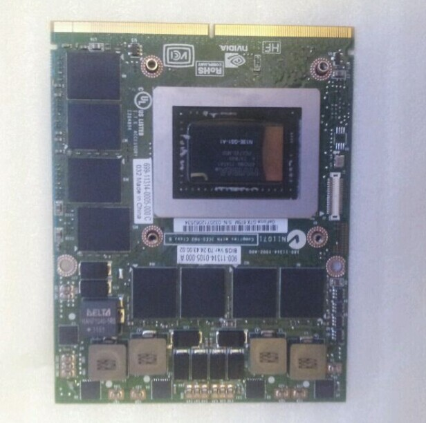 DEll M17X GTX675M N13E-GS1-A1 4GB Laptop Video CARTE