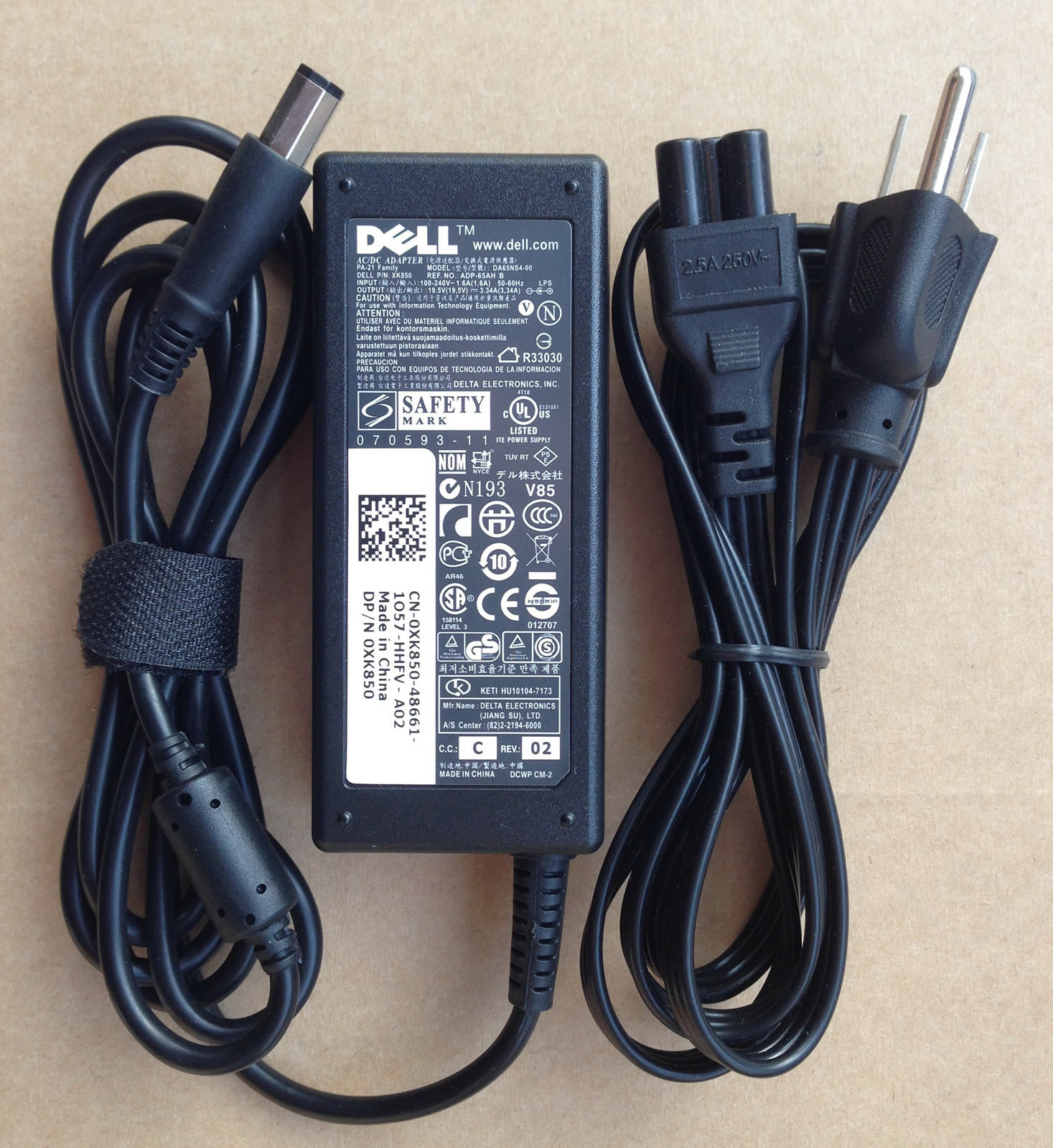 65W Dell Inspiron 1318 PA-1650-02DW Chargeurs