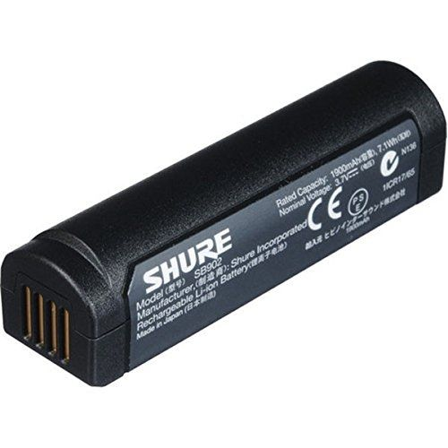 1900mAh Shure SB902 Lithium Batterie PC Portable