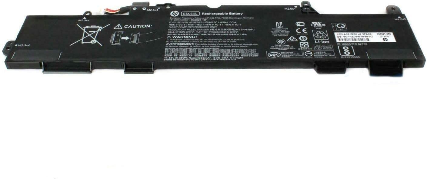 SS03XL Batterie pour HP EliteBook 840 G5 EliteBook 745 G5 Zbook 14U G5 50 Wh