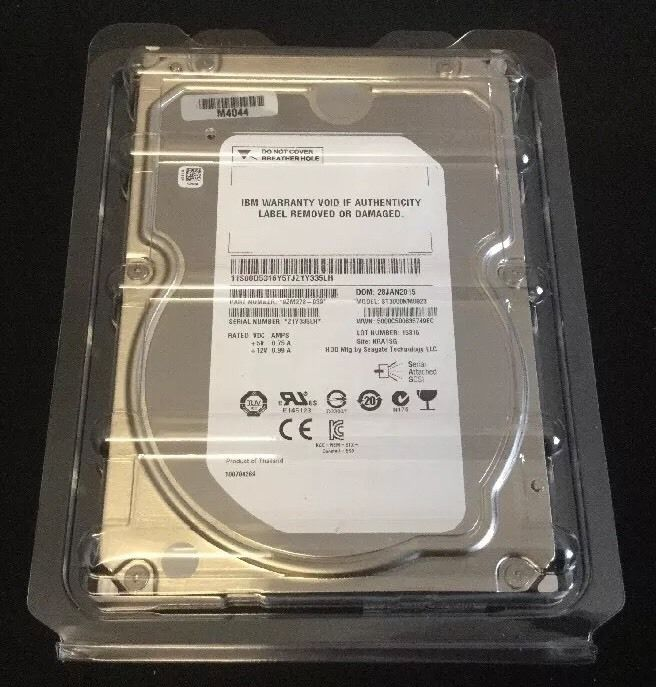 3TB 3.5 7200RPM SAS HDD ST3000NM0023