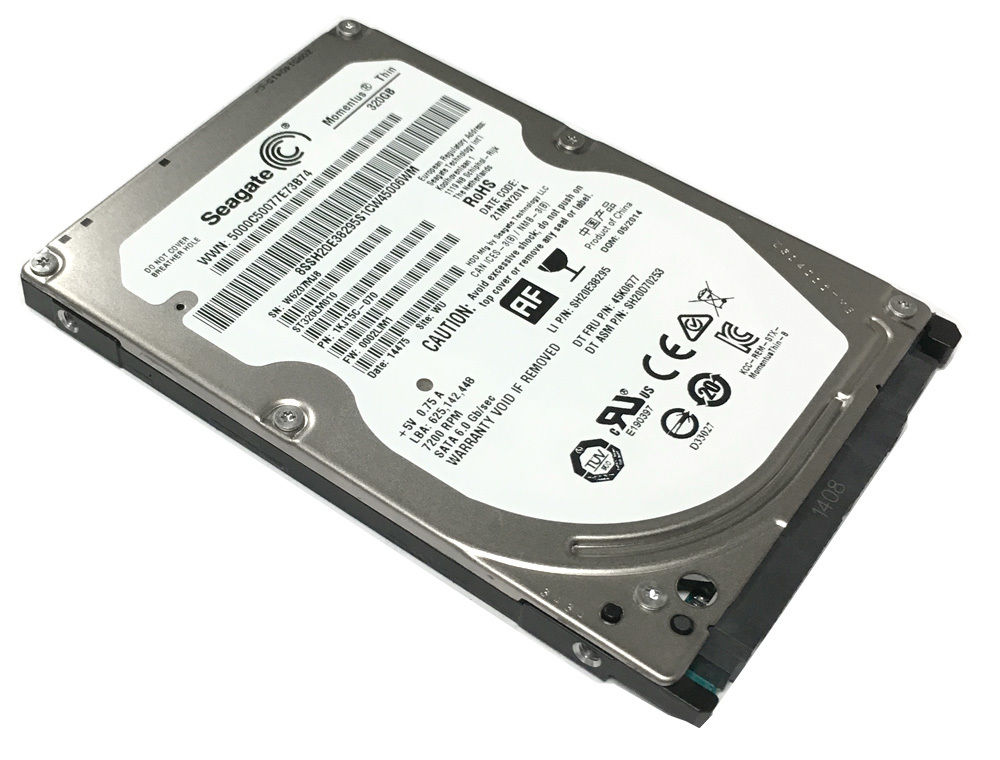 "2.5"" 320GB Seagate ST320LM010 7200RPM 32MB disque dur"