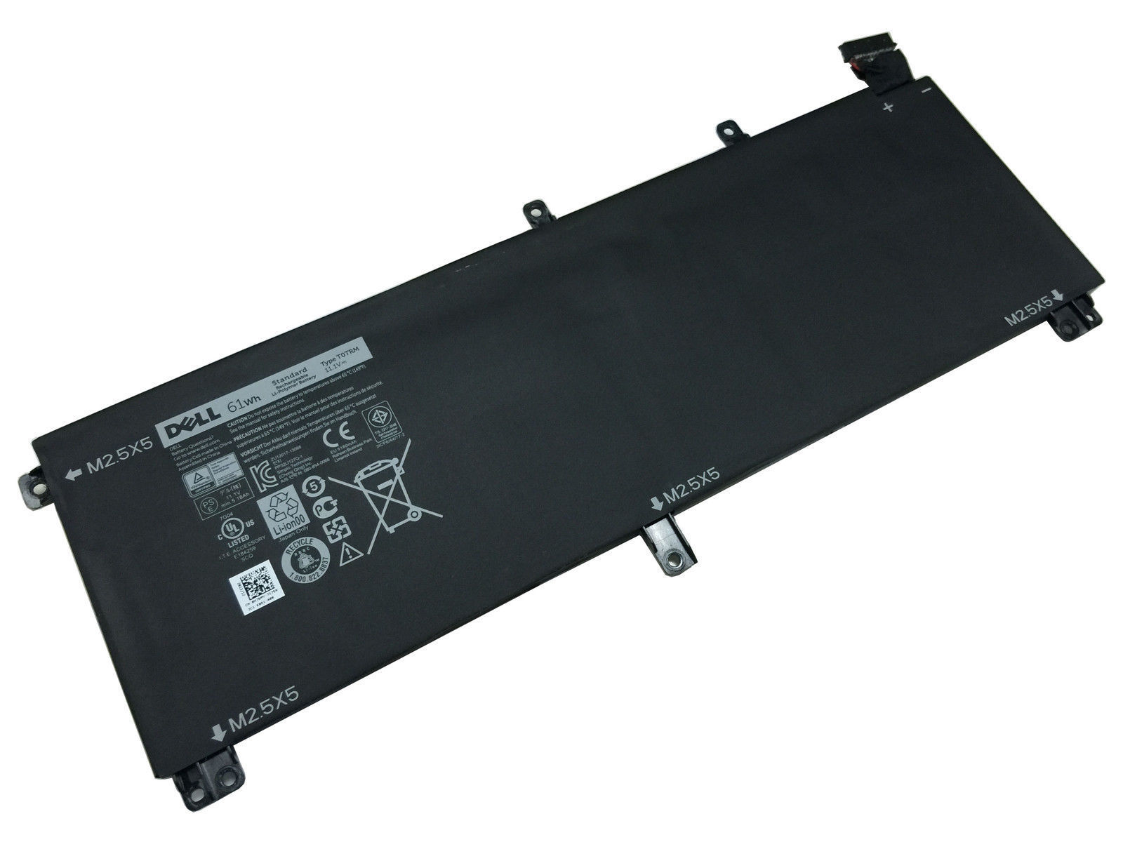 61Wh Dell XPS 15 9530 T0TRM Batterie PC Portable