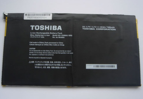 Original 30WH/7480mAh Toshiba PA5064U-1BRS Batterie PC Portable