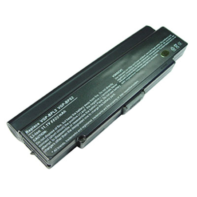,Li-ion,11.10V 6600mAh Sony VGP-BPS2 Battery pour Laptop