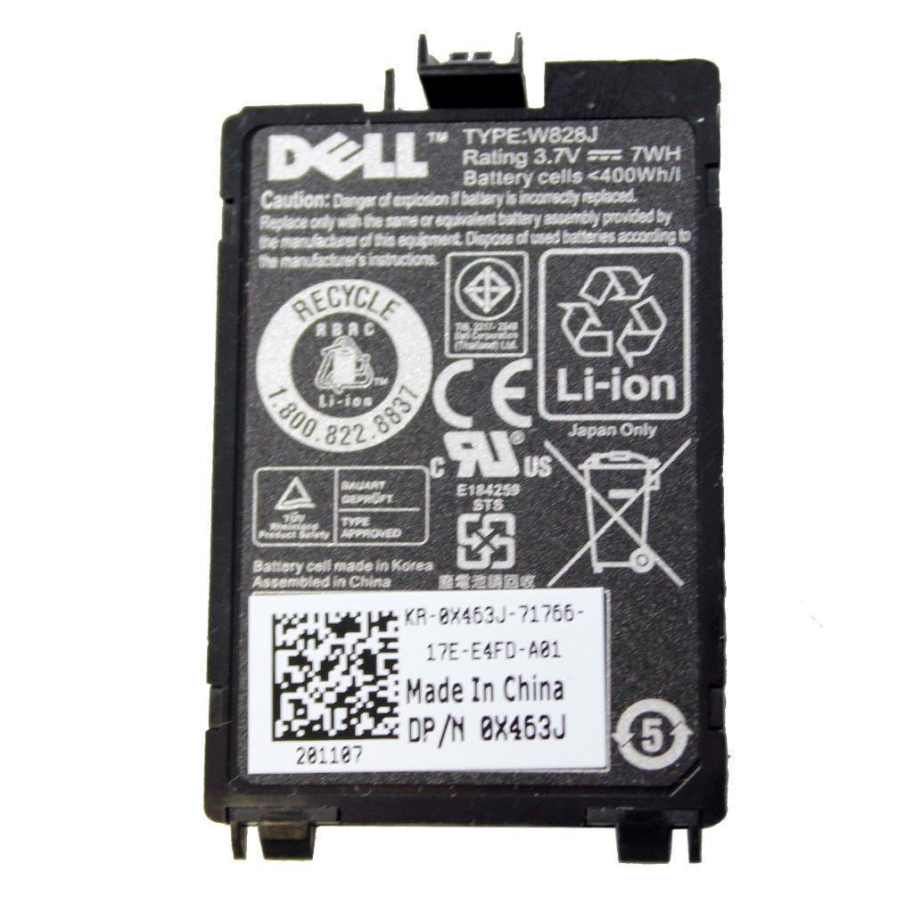7WH Dell PowerEdge M610 M910 W828J Batterie PC Portable