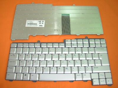 NEW Dell XPS M1710 Laptop KEYBOARD UK Layout Silver