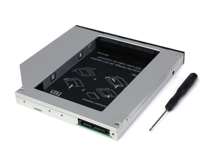 12.7mm Universal CD / DVD-ROM SATA 2nd HDD