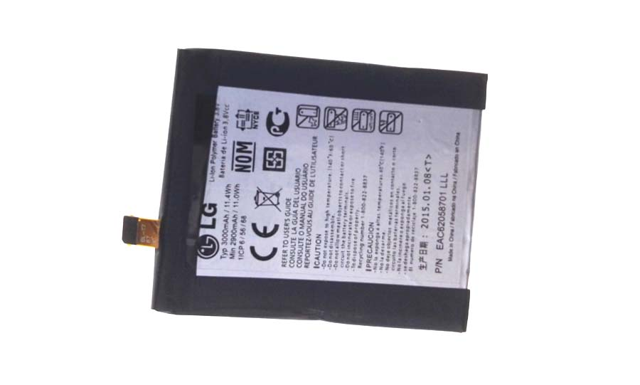 3000mAh LG Optimus G2 D800 BL-T7 EAC62058701 Batterie PC Portable