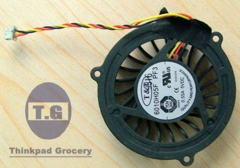 6010h05f MSI MS1435 MS1636 MS1637 CPU FAN PF3 E181279
